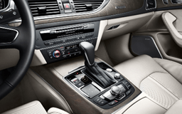Audi A6 shifter and console