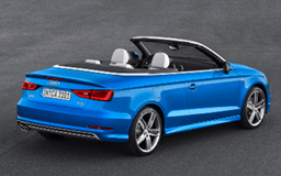 Audi A3 Cabriolet convertible
